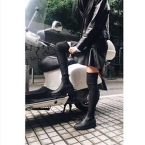 NWOB Jeffrey Campbell Monsoon Over the Knee Boots